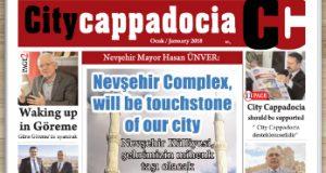CİTY CAPPADOCİA OCAK 2018 SAYISI ÇIKTI
