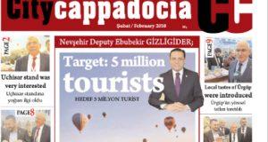 CİTY CAPPADOCİA ŞUBAT 2018 SAYISI ÇIKTI
