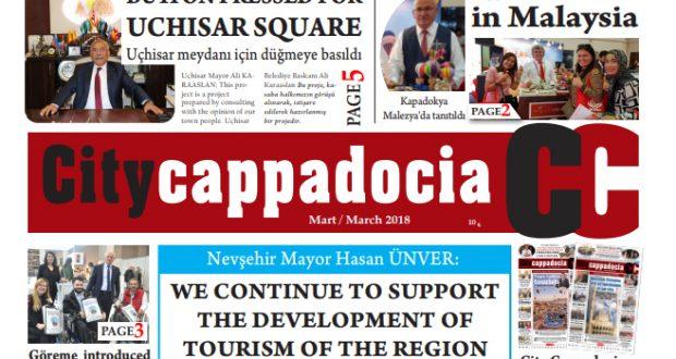 CİTY CAPPADOCİA MART 2018 SAYISI ÇIKTI