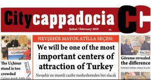 CİTY CAPPADOCİA ŞUBAT AYI SAYISI ÇIKTI