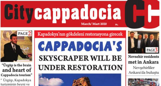 CİTY CAPPADOCİA MART SAYISI ÇIKTI