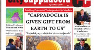 CİTY CAPPADOCİA NİSAN SAYISI ÇIKTI