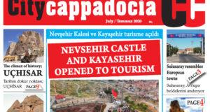 CİTY CAPPADOCİA TEMMUZ SAYISI ÇIKTI
