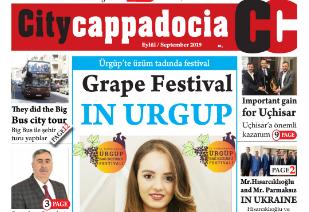 City Capadocia Eylül sayısı çıktı