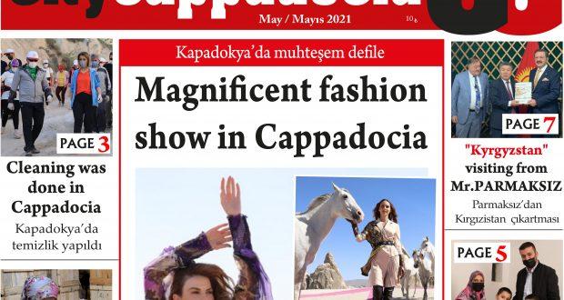 CİTY CAPPADOCİA MAYIS SAYISI ÇIKTI